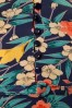 King Louie Emmy Floral Dress in Inkblue 102 39 21204 20170710 0006