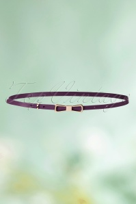 King Louie Bow Belt in Purple 230 60 21201 02102016 003aW