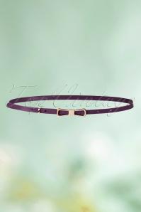 King Louie Bow Belt in Purple 230 60 21201 02102016 003aW