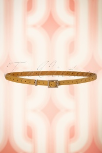 King Louie Belt Star in Mustard 230 80 21203 07112017 003W