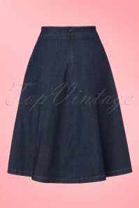 King Louie Delphi Skirt in Denim 122 30 21198 20170710 0008W