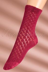 King Louie Partypolka Framboise Pink Socks 179 22 21308 07112017 006W