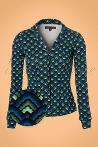 King Louie Patty Dark Navy Blouse 112 39 21275 20170712 0002wv