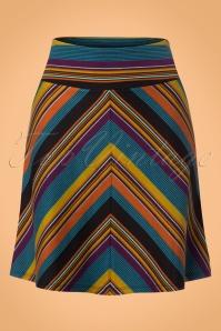 King louie Border Skirt in Lake Blue 123 39 21331 20170710 0005w achtergrond voorstel