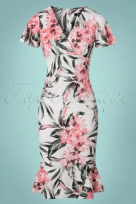 Vintage Chic High Summer Sofia Flower Dress 100 59 22078 20170616 0002w