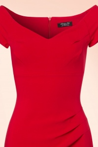 Vintage Chic Sweet heart crepe dress 100 20 20991 20170712 0003V
