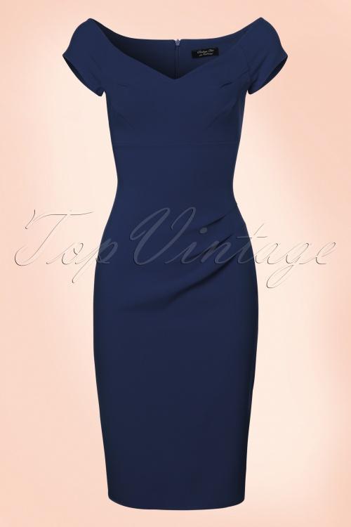 Vintage Chic Sweet heart crepe dress 100 20 20991 20170712 0003W