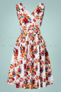 Dolly & Dotty Petal Swing Dress with Flowers 102 59 20742 20170529 0015w