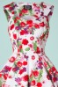 White Floral Swing Dress Hearts & Roses 102 59 17131 20151021 006V