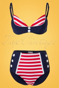 Bellissima Blue Red Sailor Bikini 21180 22118 20170522 0003W