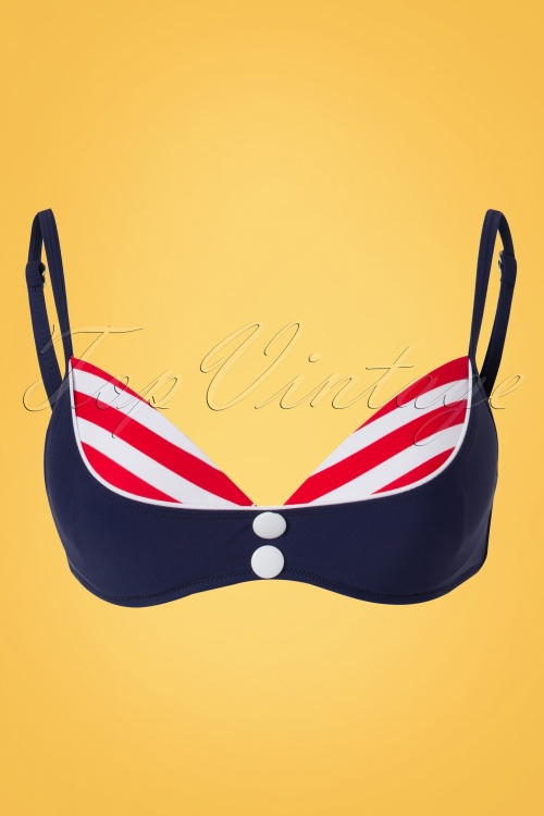Bellissima Blue Red Sailor Bikini 21180 22118 20170522 0004W