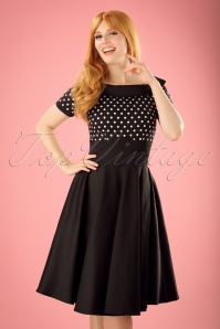 Dolly & Dotty Darlene Polkadot Swing Dress 102 14 19515 20160726 0019W