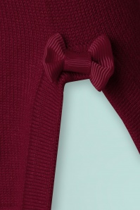 Banned Addicted Boatneck Bow Top in Bordeaux 113 20 22285 20151202 0005a