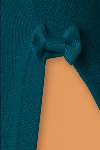 Banned Addicted Boatneck Bow Top in Teal 113 30 22287 20151202 0004a