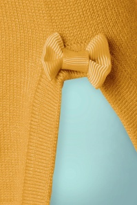 Banned Addicted Boatneck Bow Top in Mustard 113 80 22297 20151202 0005a