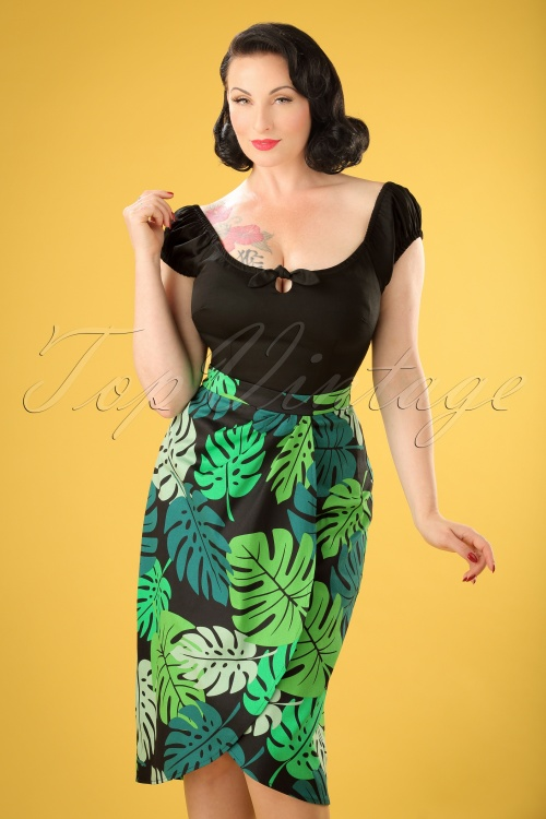 Collectif Cloting Tahiti Palm Print Sarong 17647 20151117 0007W