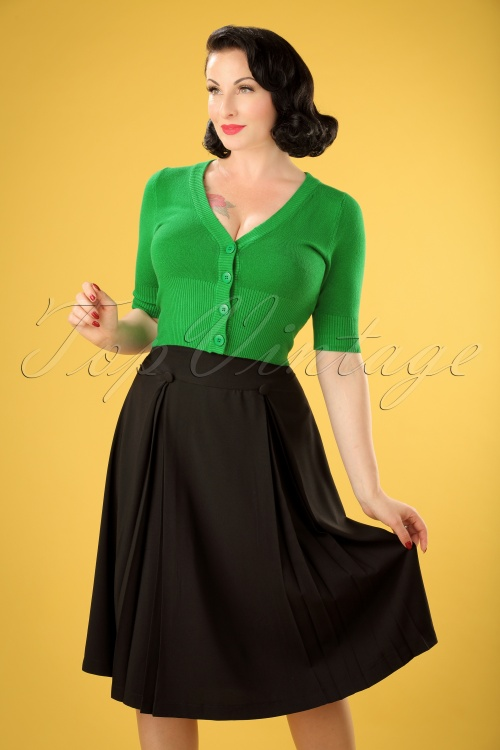 Bunny Kennedy Skirt in Black 122 10 19579 20161124 0008w