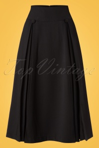 Bunny Kennedy Skirt in Black 122 10 19579 20161124 0003w