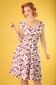 Vintage Chic Cherry Dress 102 59 22072 20170613 0009W