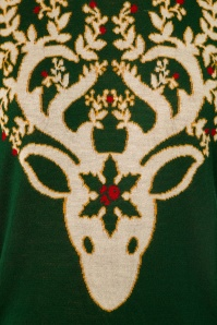 Dancing Days by Banned Ren Deer Sweater in Bordeaux 113 40 22354 20170717 0004