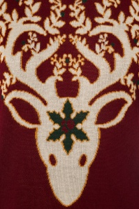 Dancing Days by Banned Ren Deer Sweater in Bordeaux 113 20 22355 20170717 0007