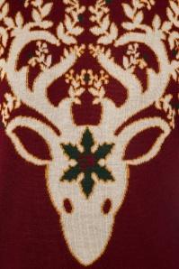 Dancing Days by Banned Ren Deer Sweater in Bordeaux 113 20 22355 20170717 0007