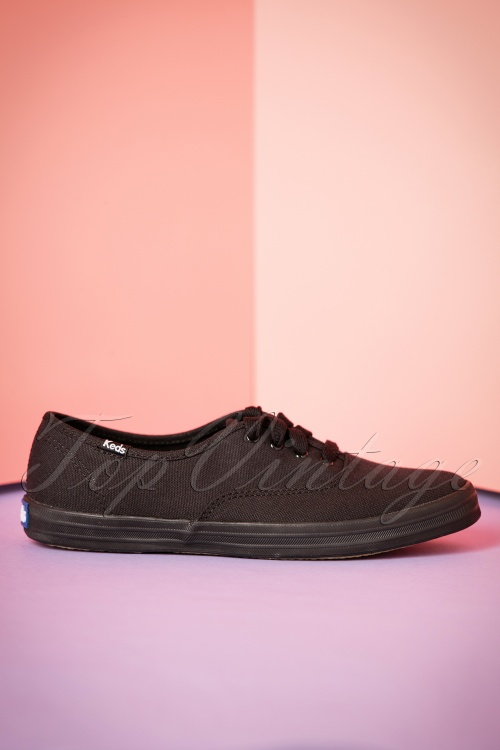b309f1077bc Keds Champion Core Black Sneakers 400 10 22515 07182017 008W