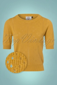 50s Dune Jumper in Mustard