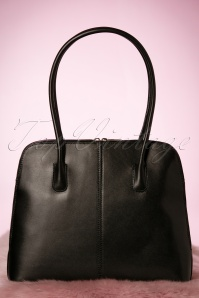 70s Classic Bag in Black genuine leather