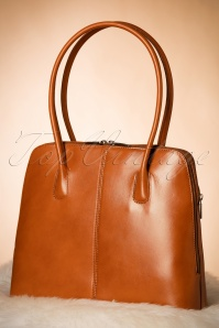 Vava Vintage 70s classic Cognac 212 70 10019 07192017 009W