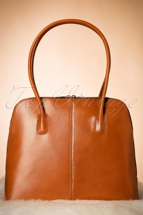 Vava Vintage 70s classic Cognac 212 70 10019 07192017 006W