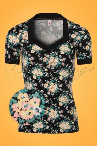 Blutsgeschwister Heart to Heart Flower Top 111 14 21666 20170720 0005wv