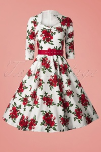 Bunny 50s Eternity Dress White Red Roses 104 59 12692 20140319 0007 FrontVW
