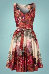 Lady V Tea Dress Red Rose in Marchella Fabric  102 59 21792 20170721 0014w
