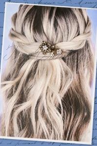 Foxy Crystal Rose Hair Clip 208 91 22406 07252017 009W