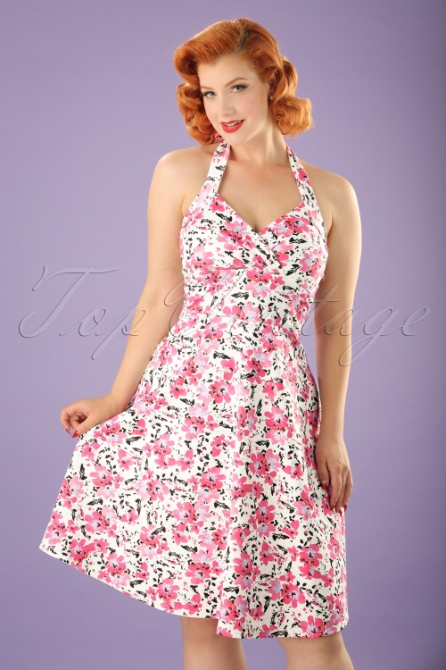 Vintage Chic Marcella High Summer Dress 22074 20170613 0008W