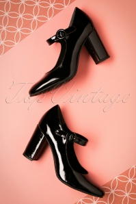 Tamaris Black Mary Jane Pumps 402 10 21531 07252017 039W