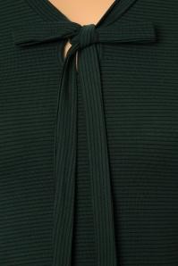 King Louie Fine Stripe Green Bow Top 113 49 21264 20170731 0008W