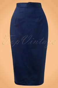 50s Frankie Skirt in Navy