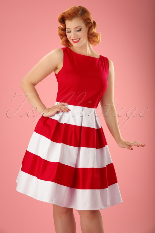 Dolly and Dotty Anna Striped Dress 102 20 18177 20160615 0013W