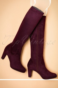 Tamaris Merlot High Boots 440 60 21537 09052016 037W