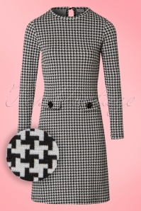 Madamoiselle Yeye Helen A line houndstooth Dress 21588 20170516 0011W1