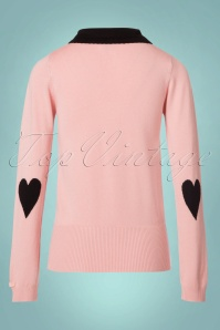 Mademoiselle yeye Nelly Jumper in Blush 113 22 21590 20170802 0007W