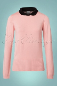 Mademoiselle yeye Nelly Jumper in Blush 113 22 21590 20170802 0005W
