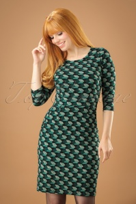 King Louie 60s Green Dress 100 14 21287 20170727 01W