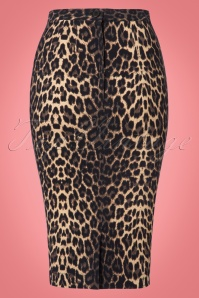 Bunny Panthera Leopard Pencil Skirt 120 58 22559 20170802 0006W