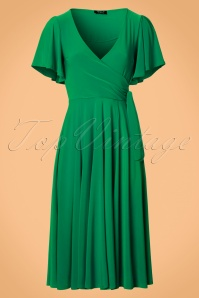Vintage Chic Slinky Fabric Dress 102 20 22578 20170807 0002W