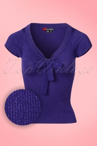 Bunny Angette Purple Bow Glitter Top 22620 20160927 0004W1