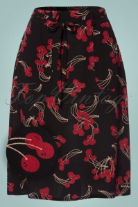 King Louie Rosa Black Cherry Skirt 122 14 21338 20170810 0005W1