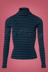 King Louie Turtleneck Striped Shirt 113 39 21311 20170811 0001W